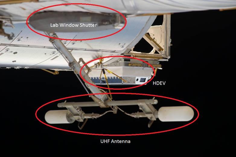 Crédito de la imagen: ISS / NASA, con anotaciones de Sam Treadgold.