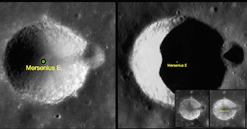 """Es una ilusión óptica: Resuelto el misterio de la """"torre en la Luna"""""""