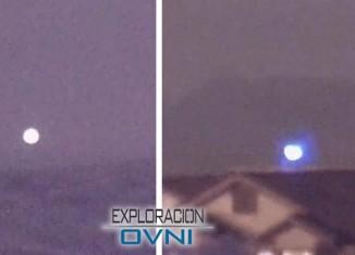 OVNI «descendiendo» sobre Las Vegas. Testigo capta extraño vídeo de un orbe