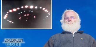 Hombre de Escocia cree haber fotografiado un OVNI real