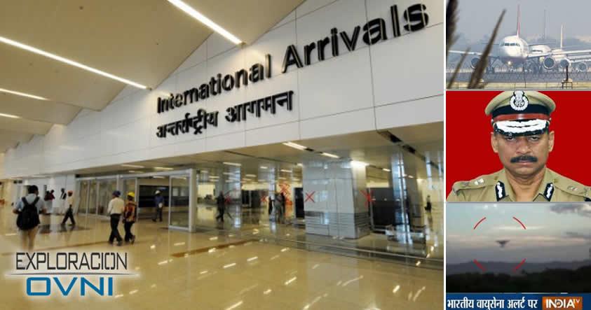 Jefe de Seguridad de Aeropuertos de India reporta 62 avistamientos de Ovnis
