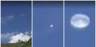 Reportero logra grabar un OVNI sobrevolando Cusco (Perú)