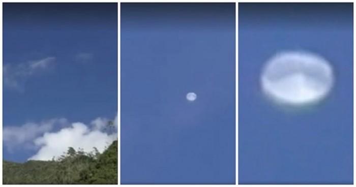 Objeto similar avistado en Cusco en abril del 2016. Son extrañamente muy parecidos.