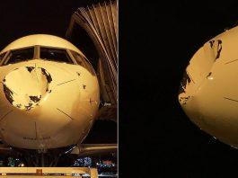 ¿Ha impactado un OVNI contra un avión de la NBA?