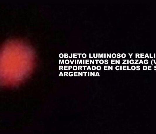 Reportan objeto luminoso y móvil en cielo de Salta, Argentina, luego de temblor