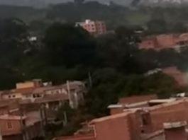 Esfera luminosa se lanza sobre cámara de testigo en Colombia