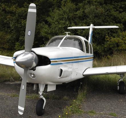 El piloto estaba volando un avión Piper PA32 durante el encuentro en mayo.