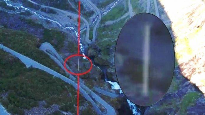 OVNI «Fastwalker» fue grabado por drone en Noruega