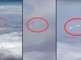 Tres OVNIs captados en pleno vuelo comercial por pasajero en EE.UU.