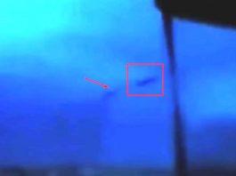 Objeto misterioso emerge de tormenta en Nebraska, EE.UU.