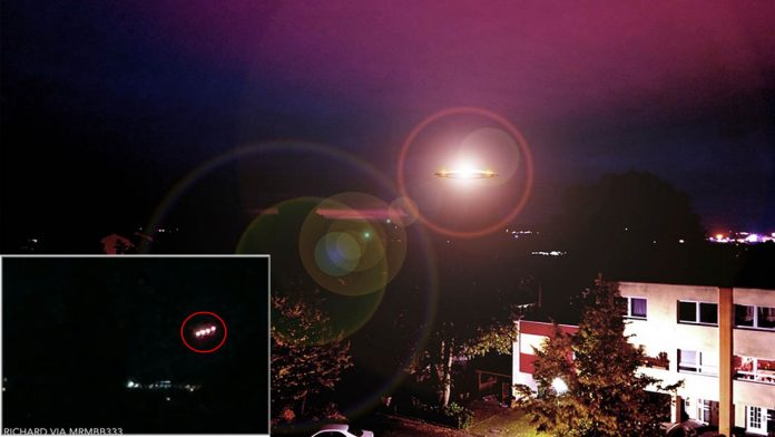 Impresionantes OVNIs luminosos captados en Colorado (Vídeo)