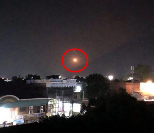 OVNI aparece en El Salvador sobre el volcán Chaparrastique