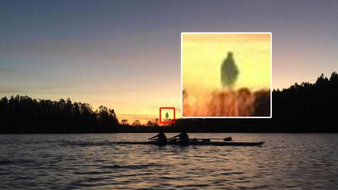 Reportan fotografías con una rara anomalía con forma humanoide en Chile