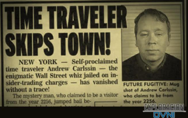 El insólito caso de un viajero en el tiempo que fue capturado por el FBI