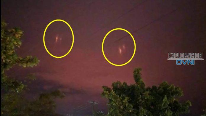 Misteriosas Luces Rojas Aparecieron En El Cielo Nocturno Sobre México