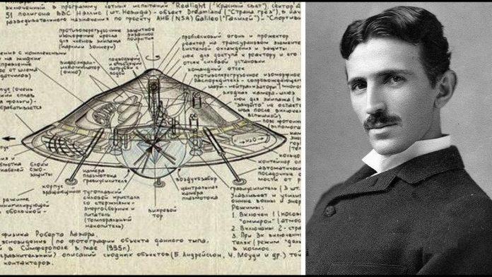 Nikola Tesla construyó un OVNI, el primer platillo volador hecho por el hombre