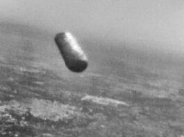 El Objeto volador fotografiado por un piloto a corta distancia en 1979