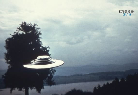 Una de las fotos de OVNIs de Billy Meier