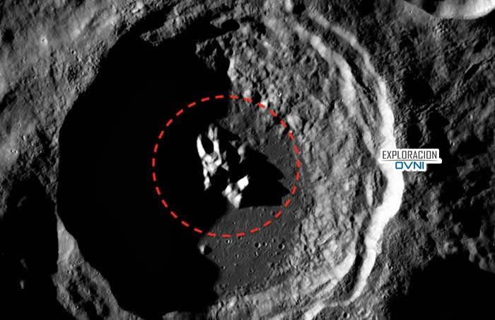 Objeto extraño en la Luna
